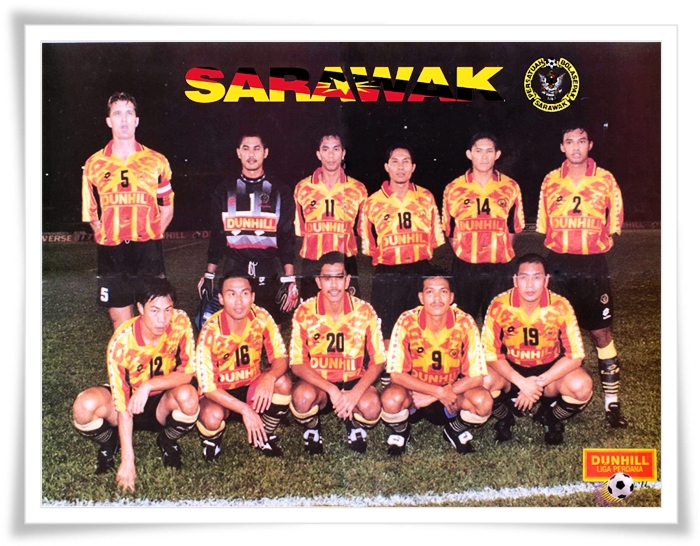 Sarawak. Kedah 1996 Ahmad Basri Akil Che Zambil Ahmad Piala FA (9)